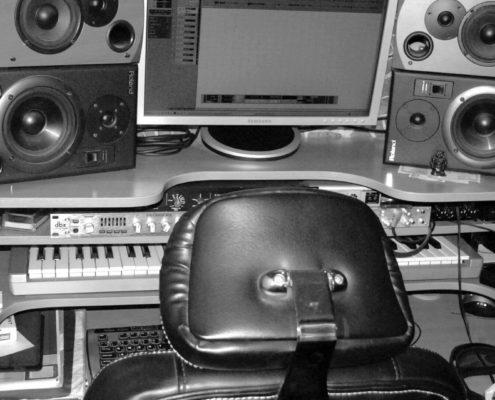 Voicing music dubbing sound editing