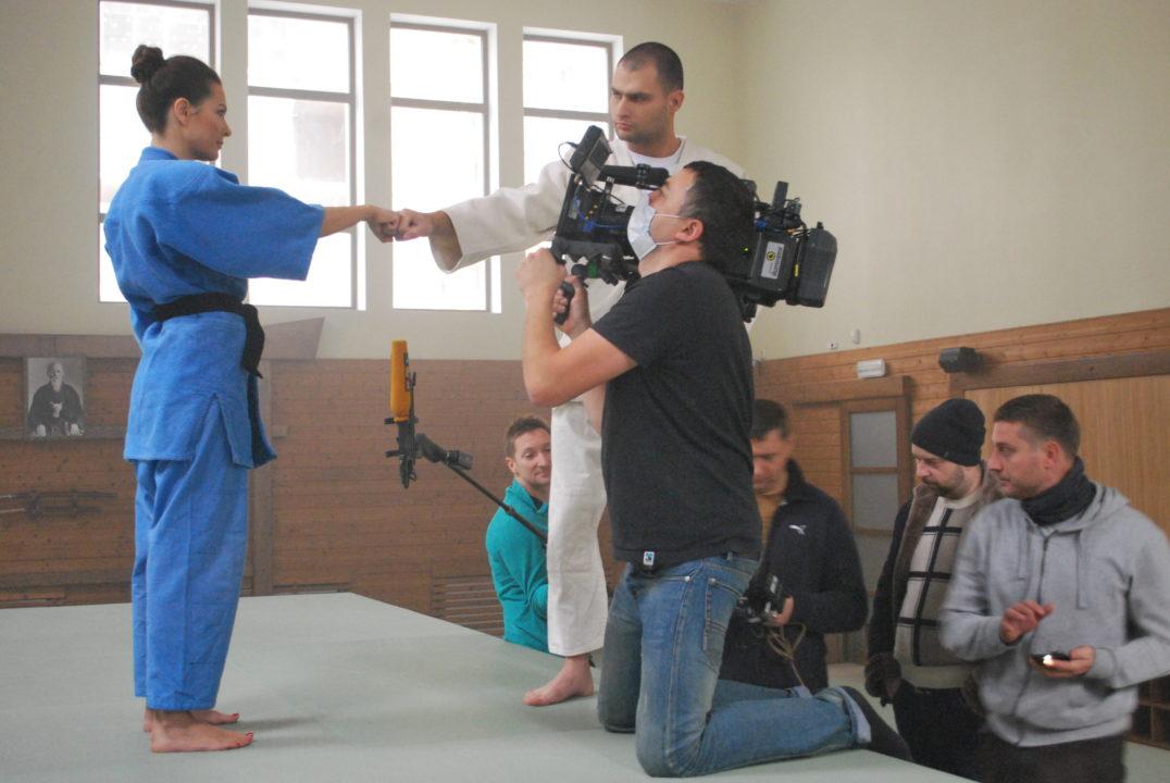 movics rextale production fight filming crew cameraman